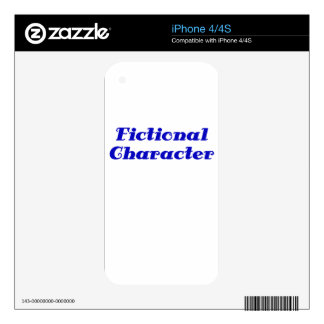 Fictional Character Decal For iPhone 4