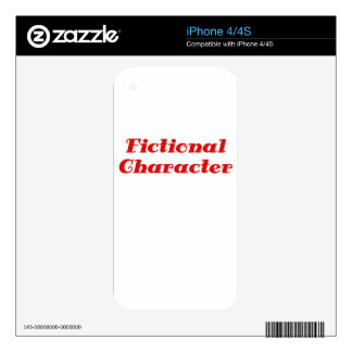 Fictional Character Skins For iPhone 4