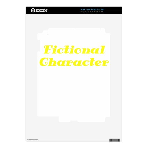 Fictional Character Skins For The iPad 2