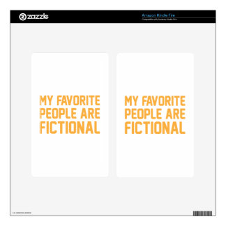 Fictional People Kindle Fire Decals