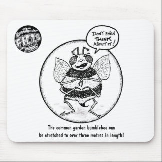 "FICTS ""Bee Stretching"" Mousepad"