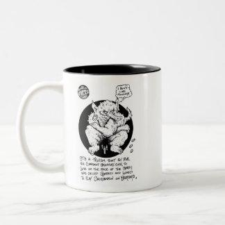 "FICTS ""Gerald"" 2-Tone Mug"
