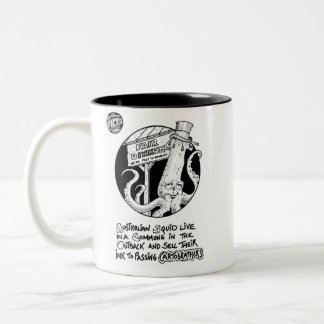 "FICTS ""Squid Ink"" 2-Tone Mug"