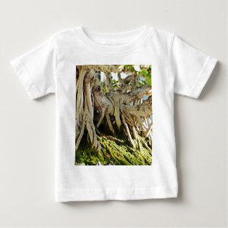 Ficus Banyan Bonsai Tree Roots Baby T-Shirt