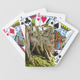 Ficus Banyan Bonsai Tree Roots Bicycle Playing Cards