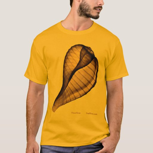Ficus ficus Large Front and Back Seashell X-Ray T-Shirt