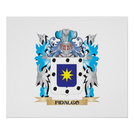 Fidalgo Coat of Arms - Family Crest Posters