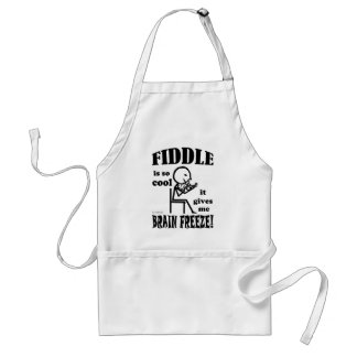 Fiddle, Brain Freeze Apron