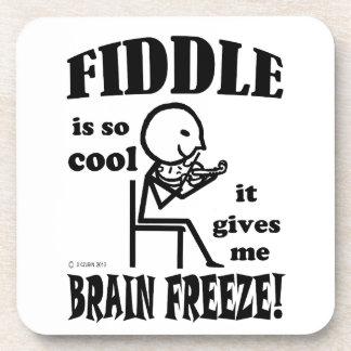 Fiddle, Brain Freeze Beverage Coaster