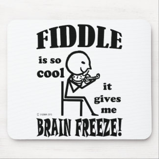 Fiddle, Brain Freeze Mouse Pad
