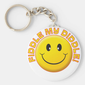 Fiddle Diddle Smile Key Chains