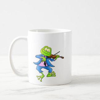 Fiddle Frog Coffee Mug