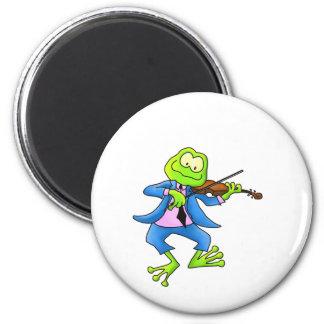 Fiddle Frog Magnets