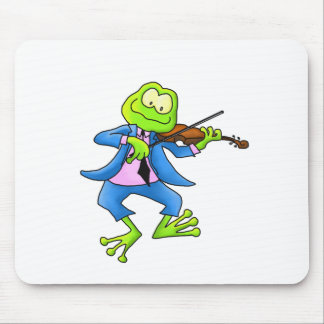 Fiddle Frog Mouse Pad