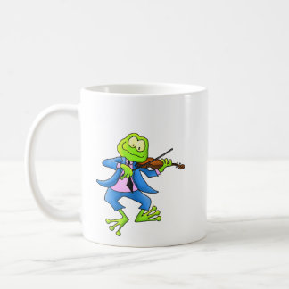 Fiddle Frog Mugs