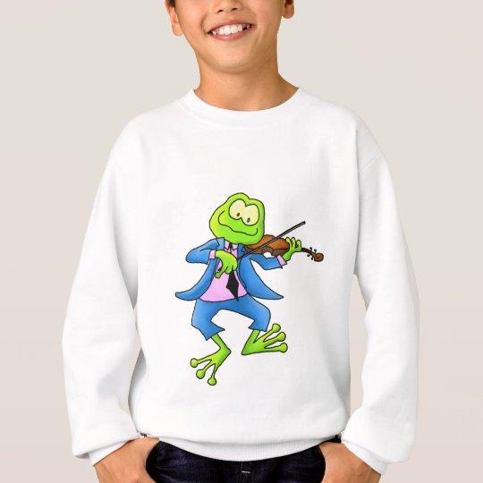Fiddle Frog Sweatshirt