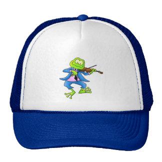 Fiddle Frog Trucker Hat