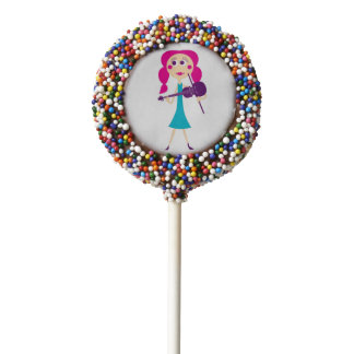 Fiddle Gal Oreo Dipped Cookie Pop