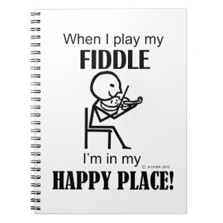 Fiddle Happy Place Note Books