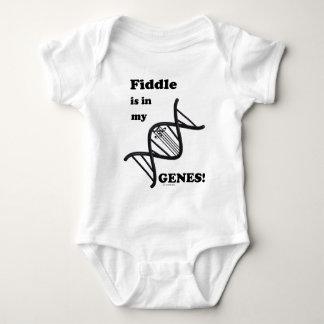 Fiddle Is In My Genes! Baby Bodysuit