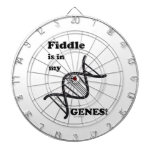 Fiddle Is In My Genes Dartboard With Darts