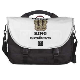 Fiddle King of Instruments Laptop Bags