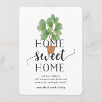 Fiddle Leaf Fig | Moving Announcement