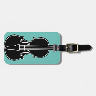 Fiddle Luggage Tag