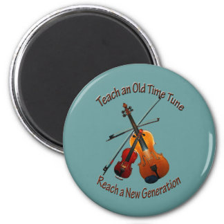 Fiddle Magnet - Teach Old Time