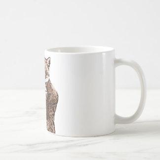 Fiddle Music fox Coffee Mug