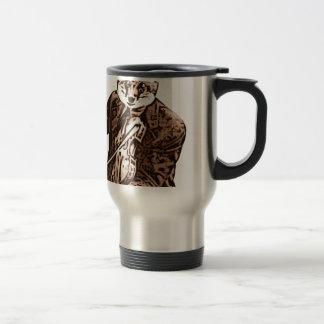 Fiddle Music fox Travel Mug