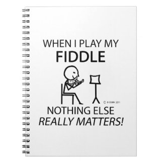 Fiddle Nothing Else Matters Note Book