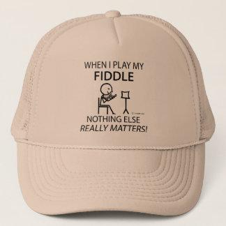 Fiddle Nothing Else Matters Trucker Hat