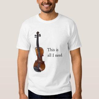 Fiddle Nut #1 T-Shirt