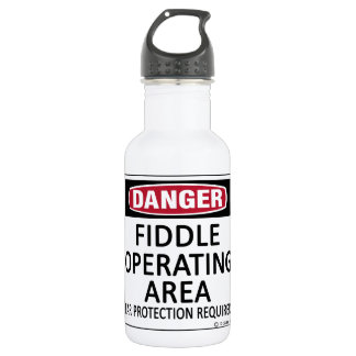 Fiddle Operating Area Water Bottle