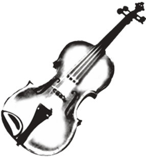 violin drawing gifts on zazzle