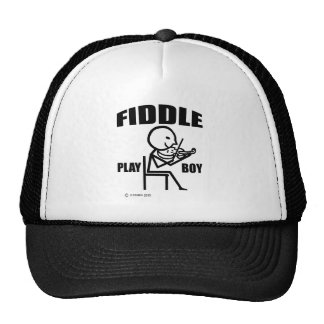 Fiddle Play Boy Trucker Hat