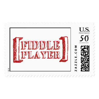 Fiddle Player Postage