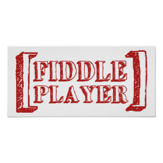 Fiddle Player Posters