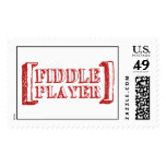 Fiddle Player Stamps