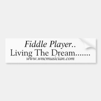 Fiddle Player Sticker