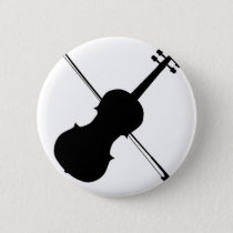 Fiddle Silhouette Button