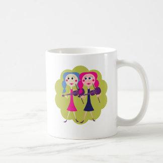 Fiddle Twins Coffee Mug
