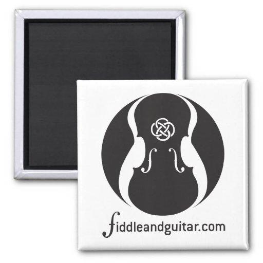 Fiddleandguitar magnet