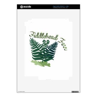 Fiddlehead Fern Decal For iPad 2