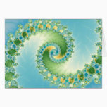 Fiddlehead - Fractal art Card
