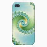 Fiddlehead - Fractal art iPhone 4/4S Case