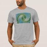 Fiddlehead - Fractal art T-Shirt