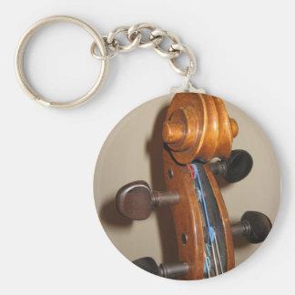 Fiddlehead keychain