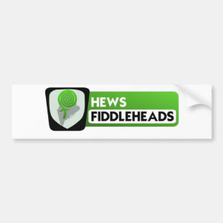 Fiddlehead Logo bigger Bumper Sticker